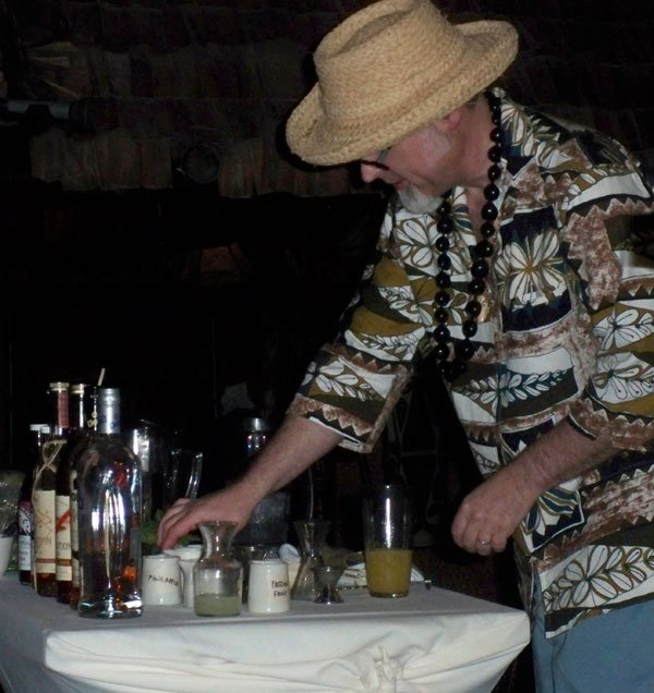 "Jeff ""Beachbum"" Berry demonstrates how to make an authentic Don The Beachcomber Zombie."
