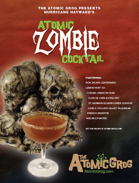 Atomic Zombie Cocktail