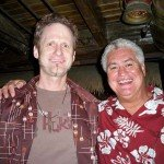 Hurricane Hayward and Mai-Kai owner Dave Levy