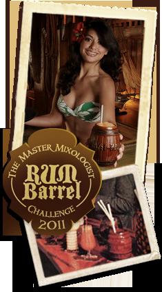 Master Mixologist Rum Barrel Challenge