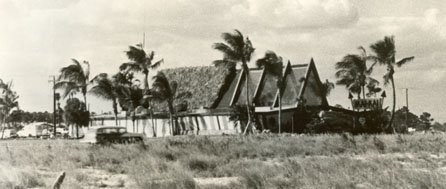 The Mai-Kai on a desolate stretch of Federal Highway shortly after its 1956 opening