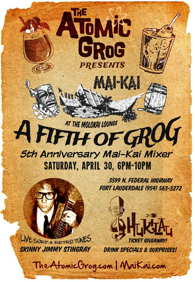 A Fifth of Grog: 5th Anniversary Mai-Kai Mixer