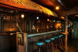 The Mai-Kai's Molokai bar is one of the most distinctive in the world