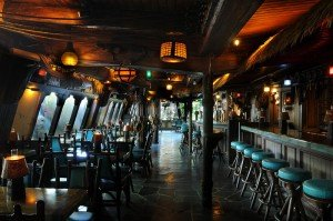 The Mai-Kai's Molokai bar was designed to look like the interior of the famed cargo ship HMS Bounty
