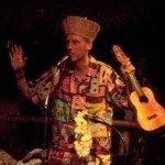 Master of ceremonies King Kukulele gets everyone in the Hukilau spirit.