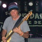 Dick Dale's bassist, Ron Eglit, at Respectable Street in West Palm Beach, June 13, 2011.