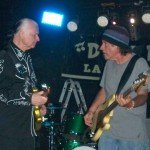 Dick Dale with bassist Ron Eglit at Respectable Street in West Palm Beach, June 13, 2011.