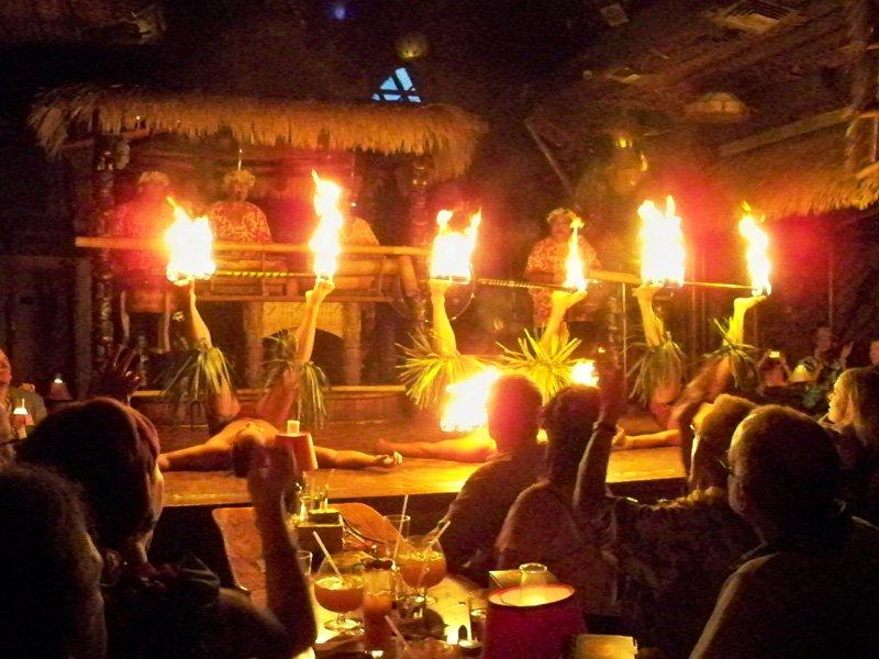 The Mai-Kai's Polynesian Islander Revue performance during The Hukilau in June 2010