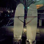 Surfboards signed by Dick Dale and The Surfaris were auctioned at the end of the night to benefit Surfers for Autism.