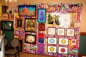 Art on display at the Harold Golen Gallery's Tiki fine art show at The Hukilau at the Bahia Mar Beach Resort on Thursday, June 9