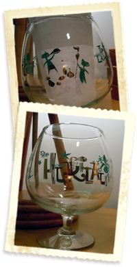 10th Anniversary Snifter Glass