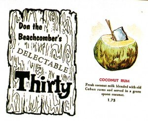 The Moonkist Coconut is a descendant of the Coconut Rum