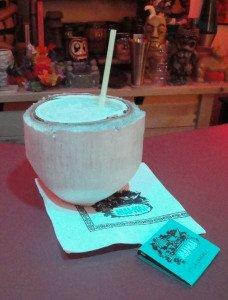 Moonkist Coconut by The Atomic Grog, September 2015. (Photo by Hurricane Hayward)
