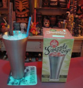 "A 151 Swizzle tribute by The Atomic Grog featuring the new reproduction of the authentic cup by Cocktail Kingdom and Jeff ""Beachbum"" Berry. (Photo by Hurricane Hayward)"