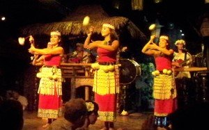 The Mai-Kai's Polynesian Islander Revue performs during The Hukilau in June 2010. (Photo by Hurricane Hayward)