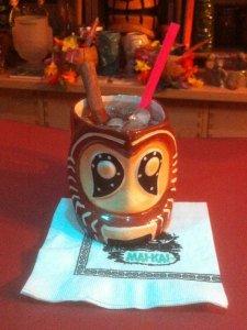 Shrunken Skull tribute by The Atomic Grog, November 2014