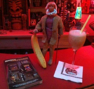 Banana Daiquiri by The Atomic Grog, September 2011. Dr. Zaius always brings the bananas. (Photo by Hurricane Hayward)
