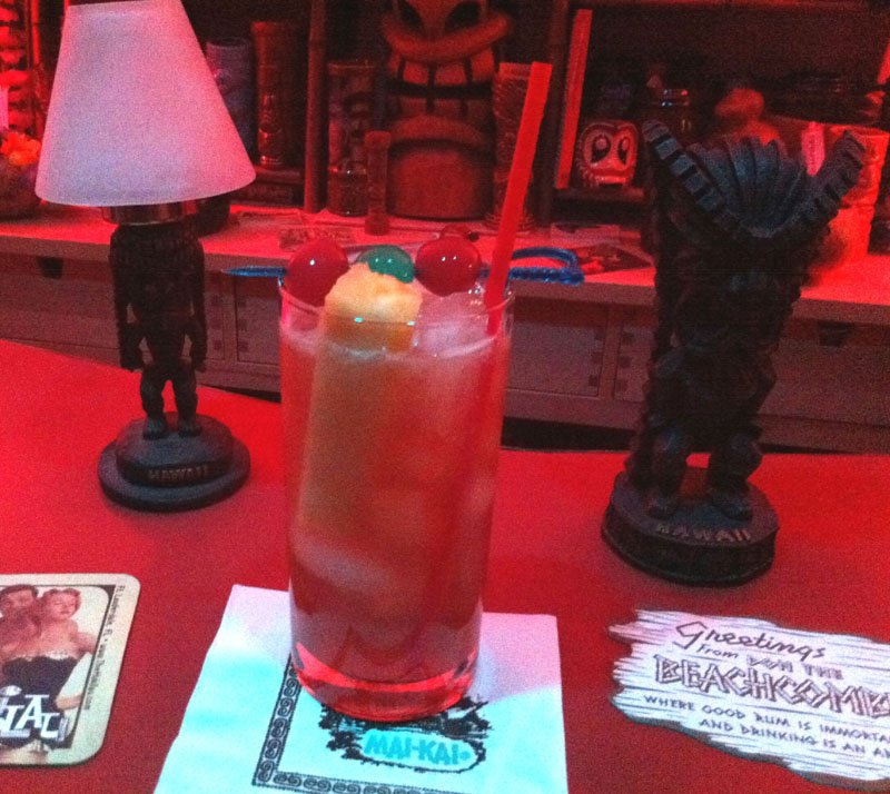 Mai-Kai tail review: Special Planters Punch is tropical drink ... on