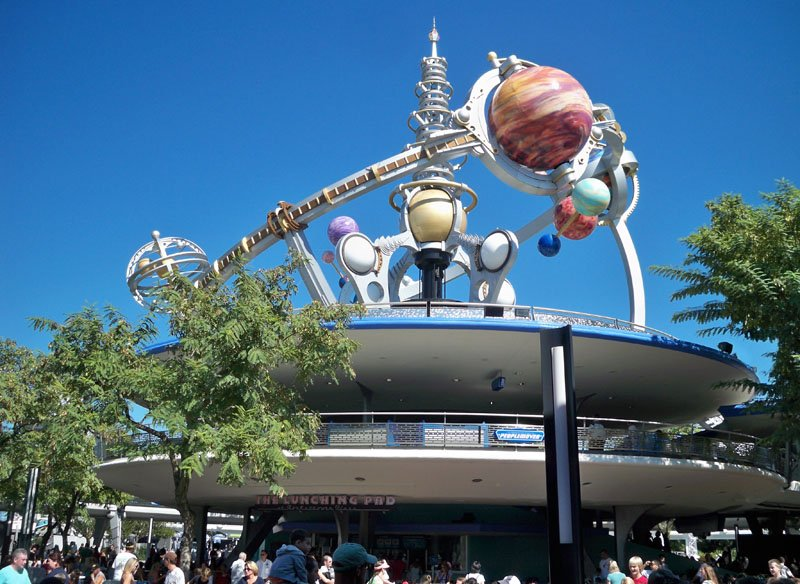 """Tommorrowland is known for its """"retro-futuristic"""" design. (Photo by Hurricane Hayward - Oct. 1, 2011)"""