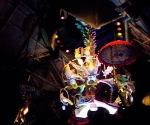 The Enchanted Tiki Room was recently restored to its original 1960s-era show following a fire in the Adventureland attraction. (Photo by Hurricane Hayward - Oct. 1, 2011)