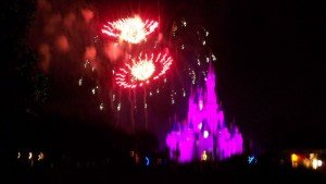 Wishes is the largest fireworks display ever presented at Walt Disney World's Magic Kingdom. (Photo by Hurricane Hayward - Oct. 1, 2011)
