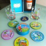 My Walt Disney World 40th anniversary merchandise stash: Commemorative items designed by Shag, and Kevin Kidney and Jody Daily. (Photo by Hurricane Hayward)