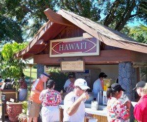 The new Hawaii booth. (Photo by Hurricane Hayward)