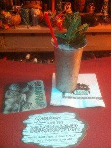 Rum Julep tribute in a metal julep cup