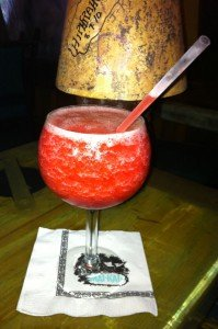 Strawberry Daiquiri, July 2011. (Photo by Hurricane Hayward)