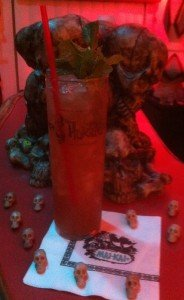 Tribute to The Mai-Kai Zombie by The Atomic Grog, October 2011. (Photo by Hurricane Hayward)