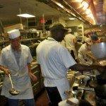 Cooks use Mandarin woks in The Mai-Kai kitchen. (Stop 3)