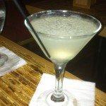 The Kapow Lychee Martini.