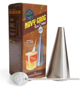 Beachbum Berry's Navy Grog Ice Cone Kit from Cocktail Kingdom.