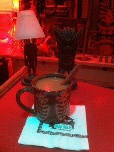 Hot Buttered Rum by The Atomic Grog. (Photo by Hurricane Hayward, December 2011