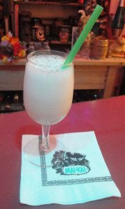 Tribute to The Mai-Kai's Martinique Milk Punch (Photo by Hurricane Hayward, January 2016)