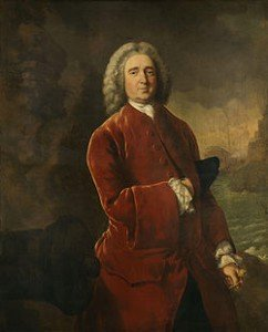 "Admiral Edward ""Old Grog"" Vernon. (Portrait by Thomas Gainsborough - from Wikipedia)"
