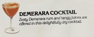 Demerara Cocktail