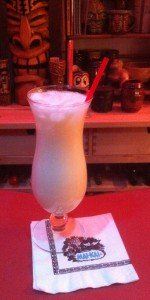 Piña Colada by The Atomic Grog. (Photo by Hurricane Hayward, January 2012)