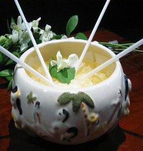Trader Vic&#039;s Scorpion Bowl.