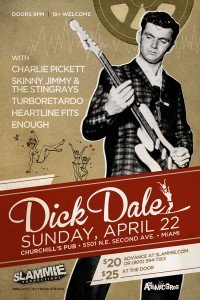 Dick Dale at Churchill's Pub
