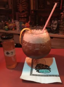 "The Black Magic tribute recipe now includes the mysterious mix known at The Mai-Kai as ""#7."" (Photo by Hurricane Hayward, October 2016)"