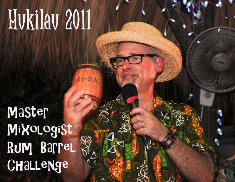 Hukilau 2011 audio slideshow: Master Mixologist Rum Barrel Challenge