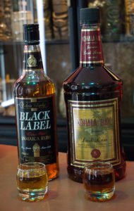 While not as dark as Kohala Bay, the Black Label rum from Jamaica's Edwin Charley packs the same funky punch of flavors. (Atomic Grog photo, March 2017)