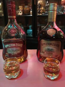 The Mai-Kai uses Appleton Estate Signature Blend in all the cocktails that previously featured Kohala Bay. The Reserve Blend will yield a similar flavor when mixed. (Atomic Grog photo)