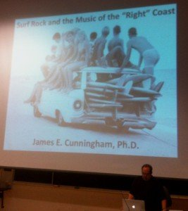 Dr. James E. Cunningham talks surf rock