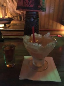 The Shark Bite features a floater of Appleton Estate Rare Blend. (Photo by Hurricane Hayward, March 2017)