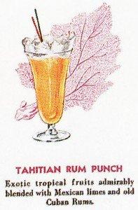 Tahitian Rum Punch