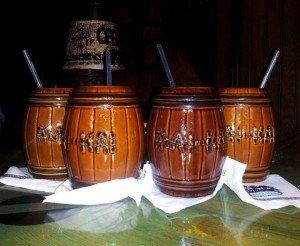 The Barrel O' Rum is The Mai-Kai's signature drink