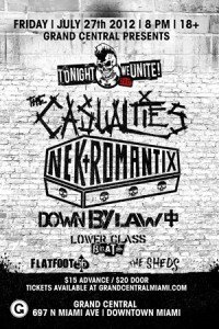 """Tonight We Unite"" featuring Nekromantix and The Casualties"