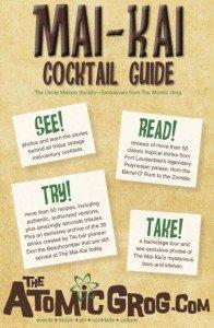 Mai-Kai Cocktail Guide